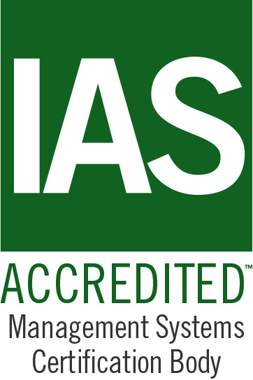 IAS accredited management systems certification body