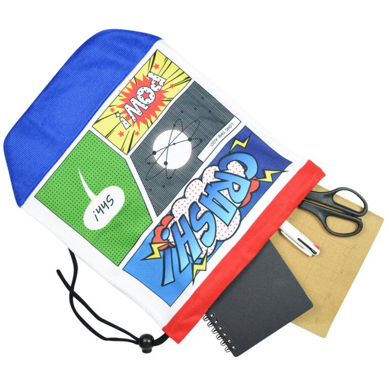 Comic Style Sublimation Bag