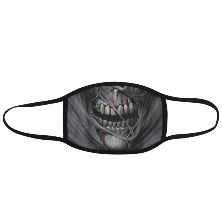 Zombie Print Facemask