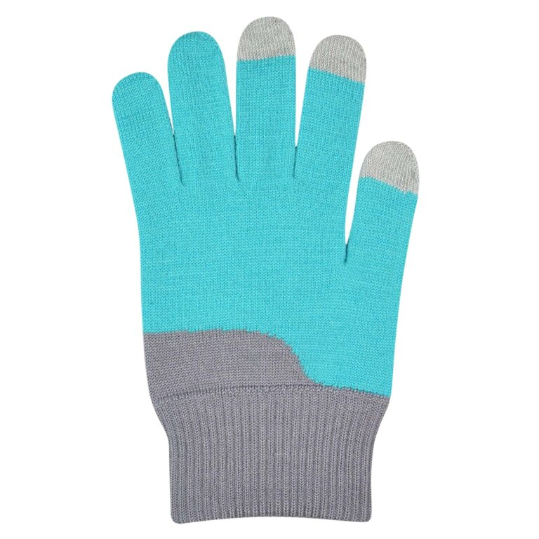 Color Block Touch Screen Gloves