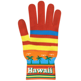 Hawaii Souvenir Gloves