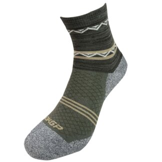 Anti-Odor Half Crew Hiking Socks