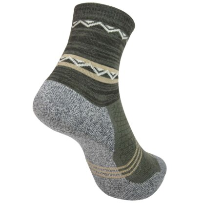 Anti-Odor Half Crew Hiking Socks