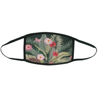 Floral Printed Facemask-01
