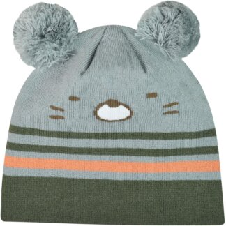 Kids Hamster Beanie With Pom Pom