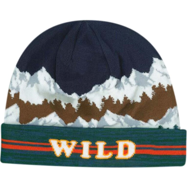 Mountain Scene Sunburner Beanie