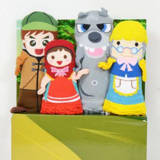 Little Red Riding Hood Hand Glove Puppet
