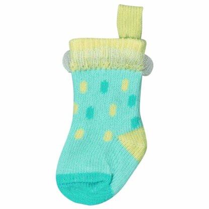 Lace And Dots Decoration Mini Sock
