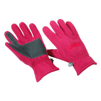 Fuchsia Pink Windproof Gloves