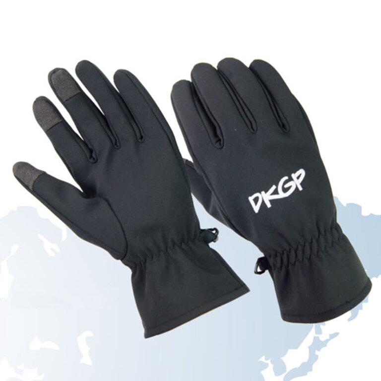 Black Smart Phone Gloves