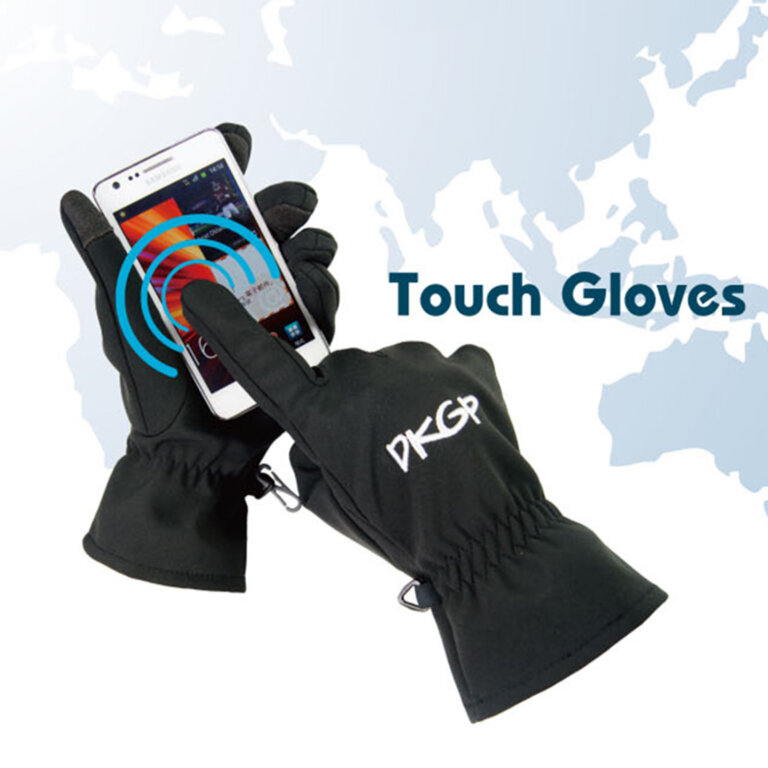 Black Smart Phone Gloves