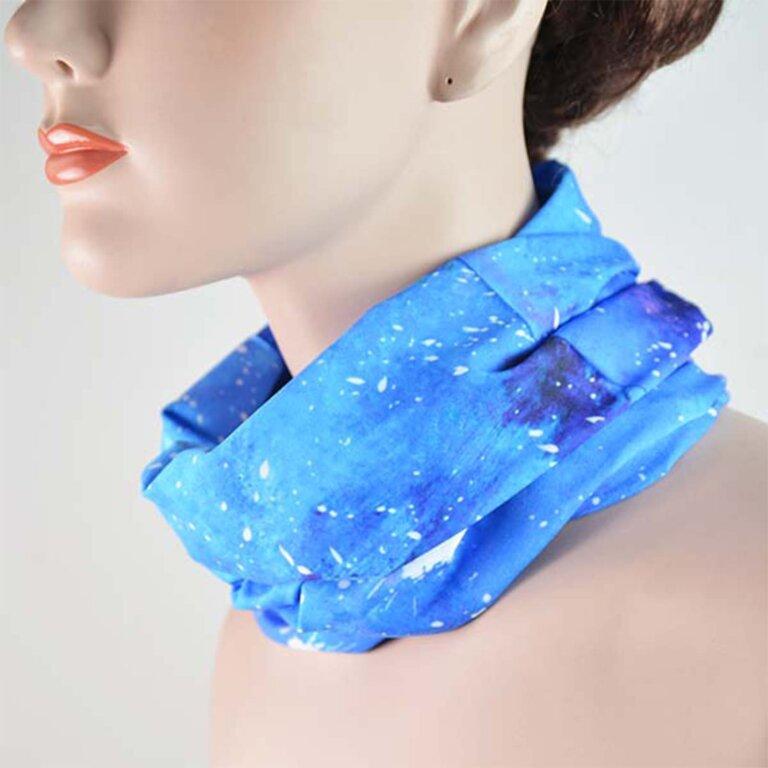 Starry Sky Print Headwear