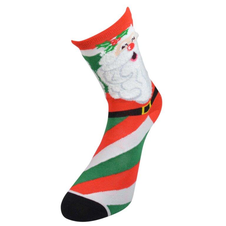 Kid's Socks with Santa Pattern