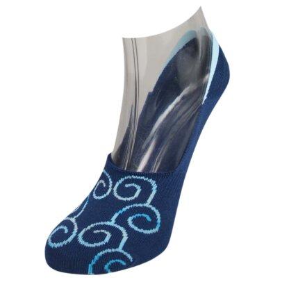 Footies Pima Cotton No Show Socks