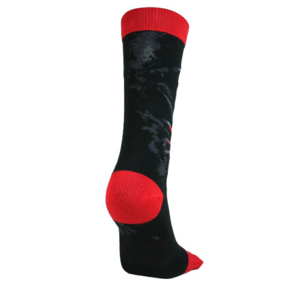 Fashion Long Toe Sock with Skeleton