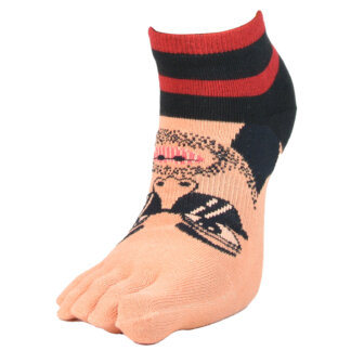 Fashion Toe Sock with Bad Boy
