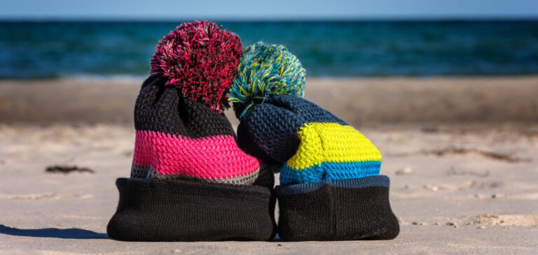 A couple of beanies